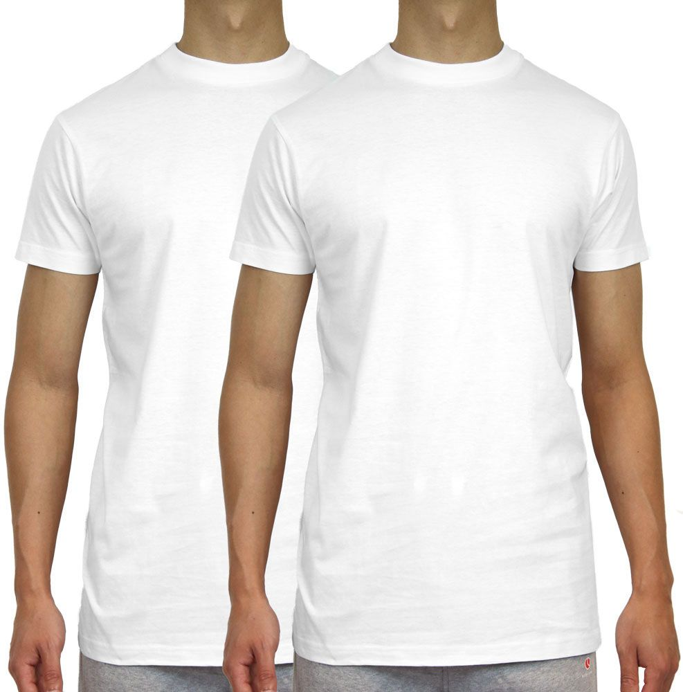 Global5 T-shirt Wit heren (MAX 2-PACK - 5050.MAX) - GL Sport (Sluis)